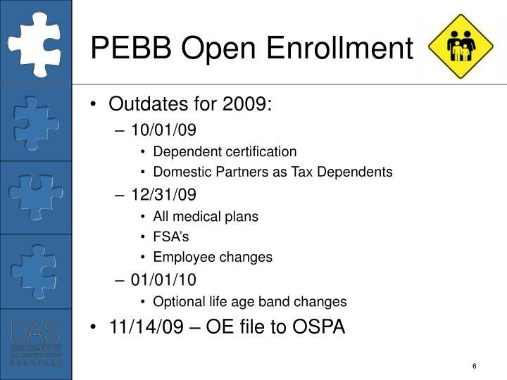 PEBB Open Enrollment