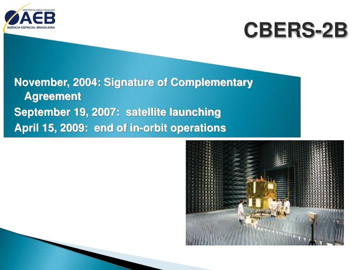 CBERS-2B