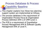 process database process capability baseline2