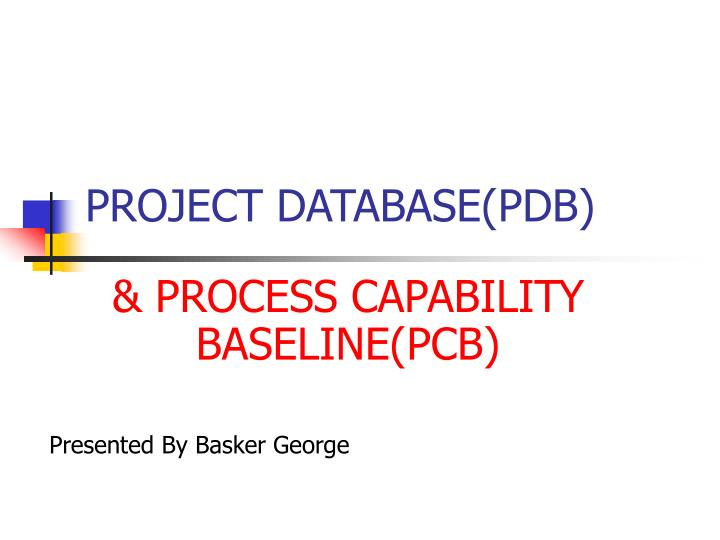 project database pdb n.