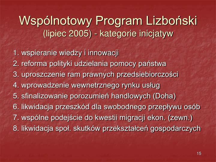 Wspólnotowy Program Lizboński