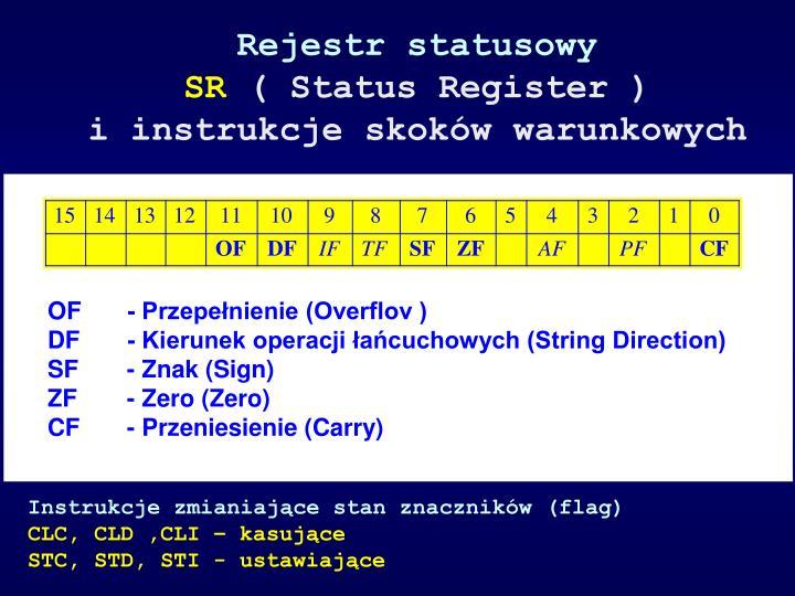 Rejestr statusowy