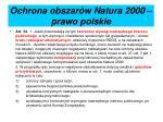 ochrona obszar w natura 2000 prawo polskie1