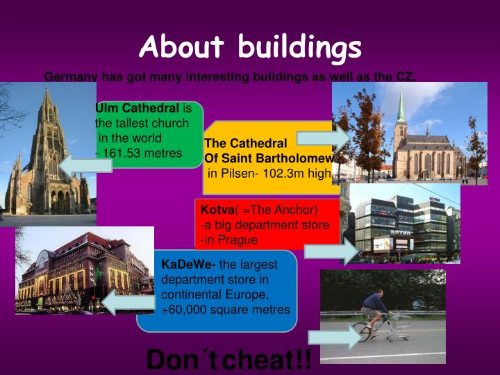 About buildings