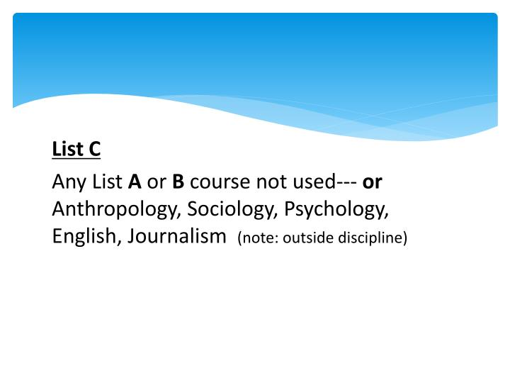 List C