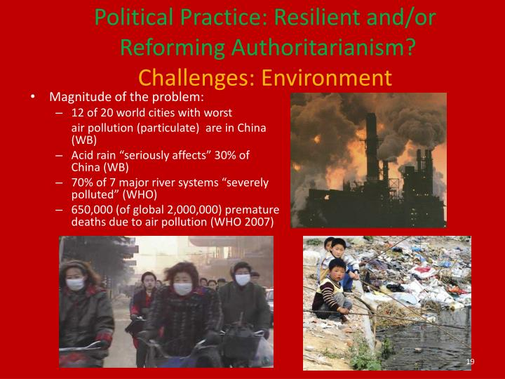 Political Practice: Resilient and/or