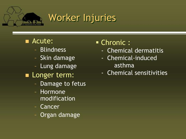 Worker Injuries