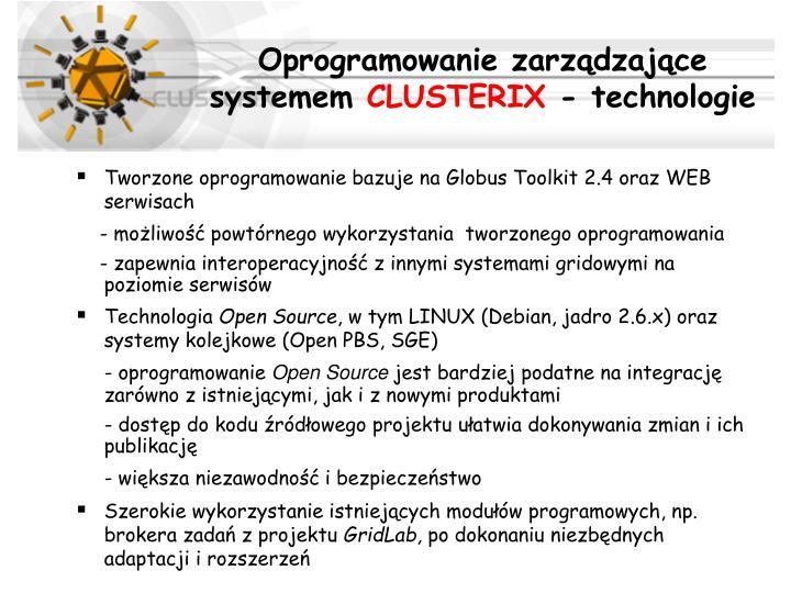 Oprogramowanie zarządzające systemem