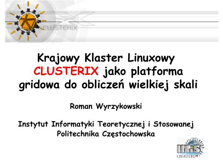 Krajowy Klaster Linuxowy