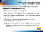 collaborative relationships key themes lessons1