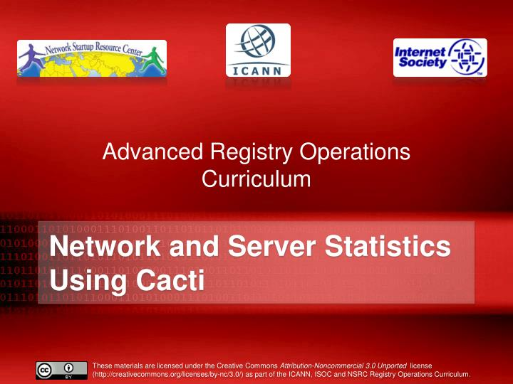 advanced registry operations curriculum n.