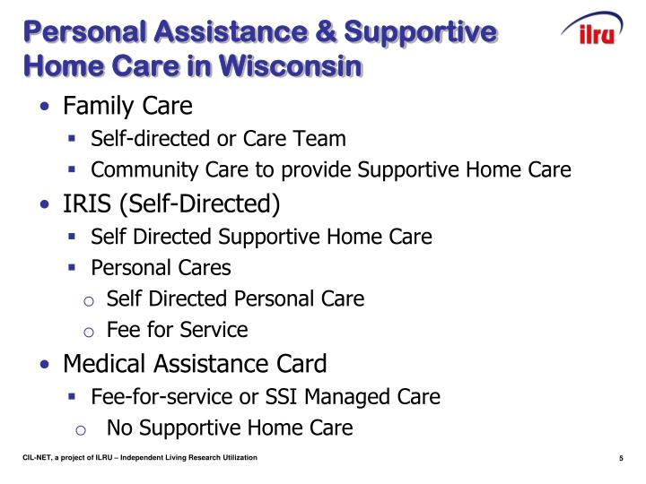 Personal Assistance & Supportive Home Care in Wisconsin