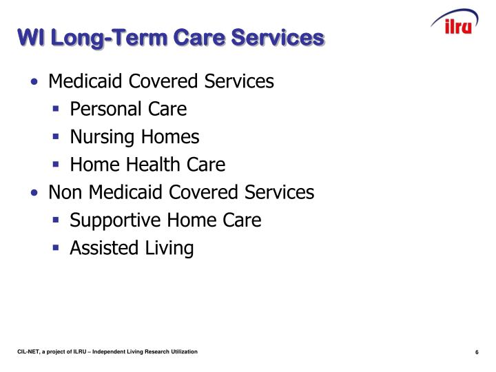 WI Long-Term Care Services
