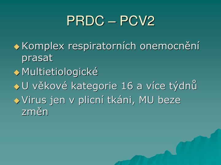 PRDC – PCV2