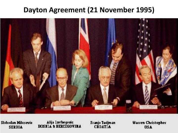Dayton Agreement (