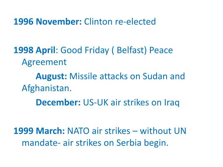 1996 November: