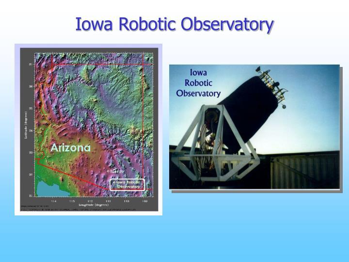 Iowa Robotic Observatory