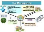 cup management