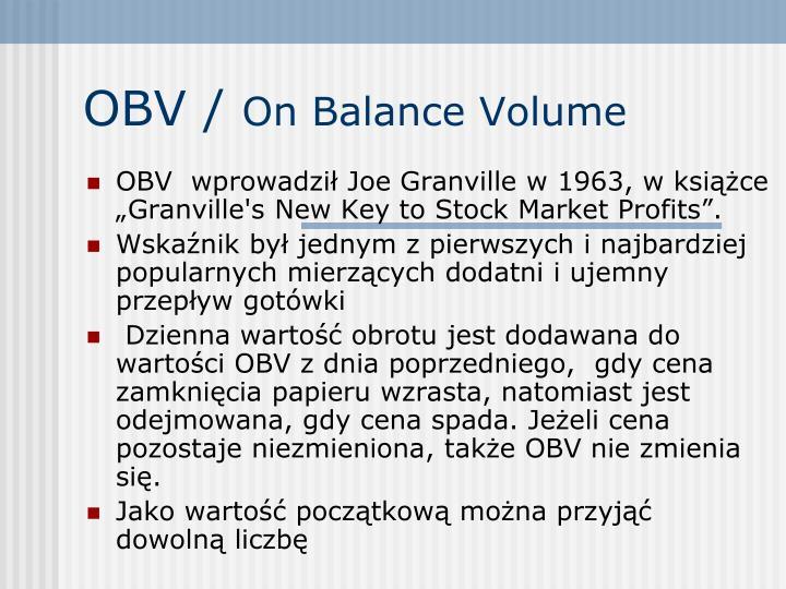 OBV /