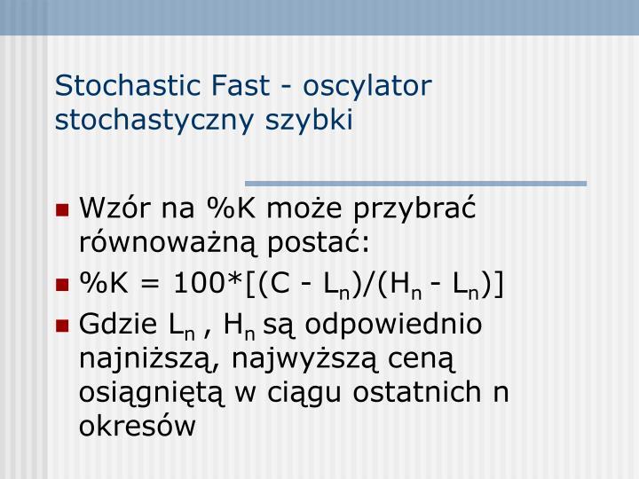 Stochastic fast oscylator stochastyczny szybki1