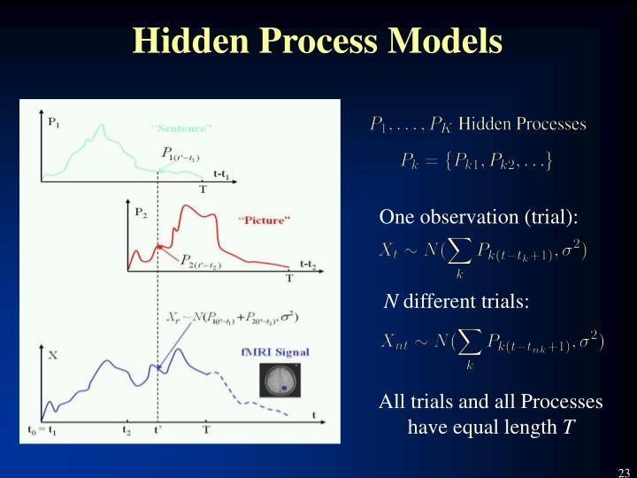 Hidden Process Models