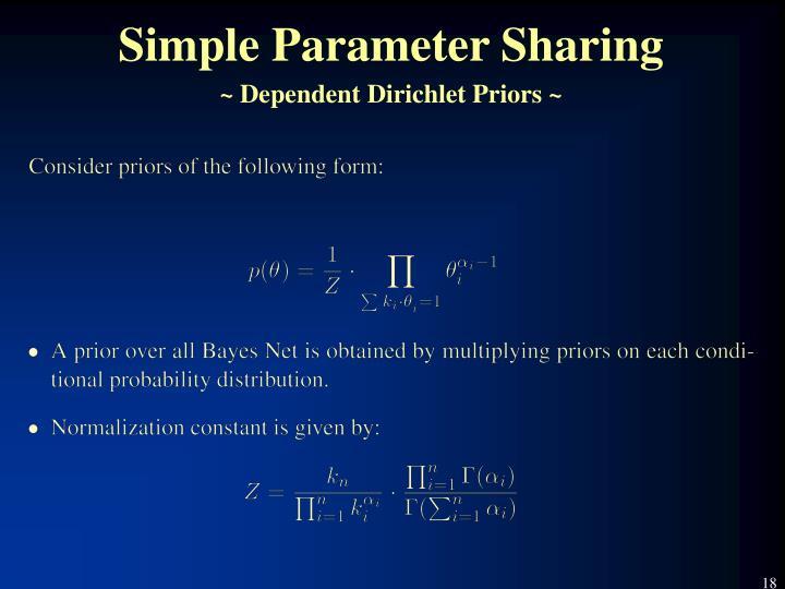 Simple Parameter Sharing