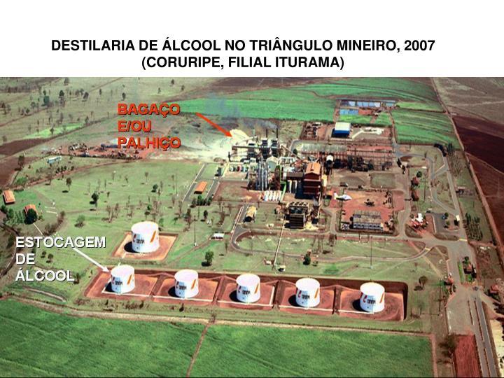 DESTILARIA DE ÁLCOOL NO TRIÂNGULO MINEIRO, 2007