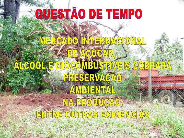 QUESTÃO DE TEMPO