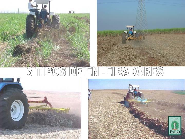 6 TIPOS DE ENLEIRADORES