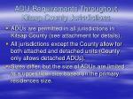 adu requirements throughout kitsap county jurisdictions