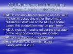 adu requirements throughout kitsap county jurisdictions1