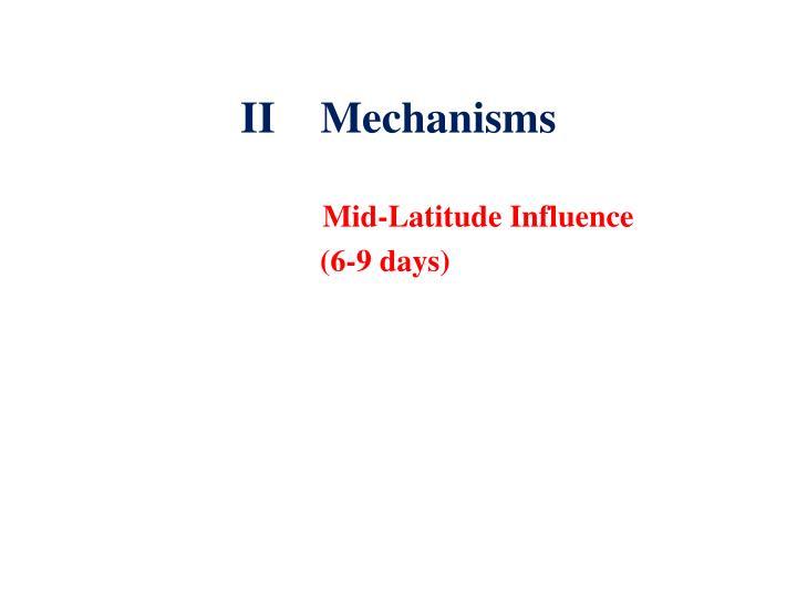 IIMechanisms