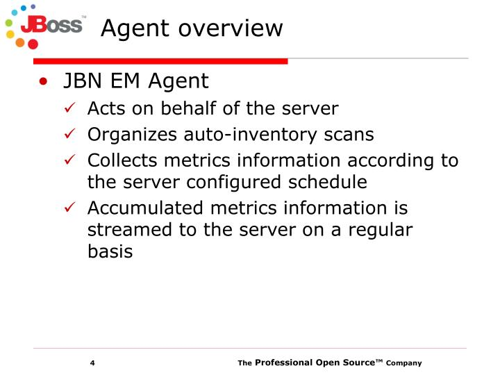 Agent overview