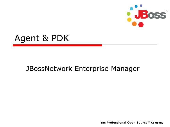 Agent pdk