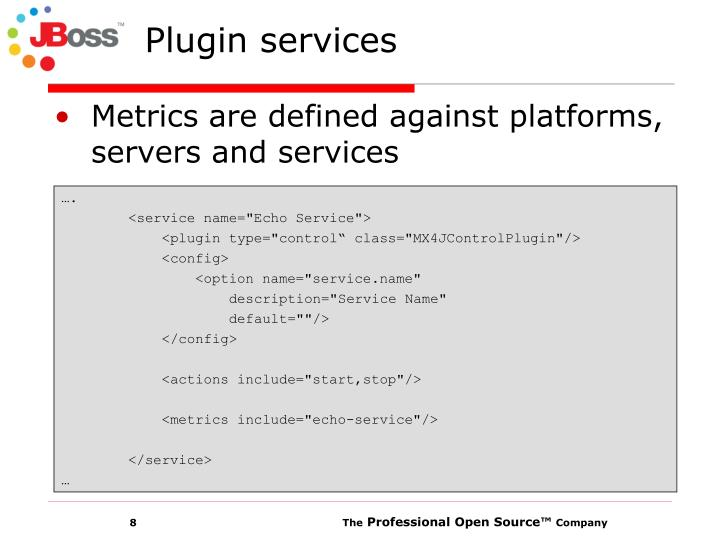 Plugin services
