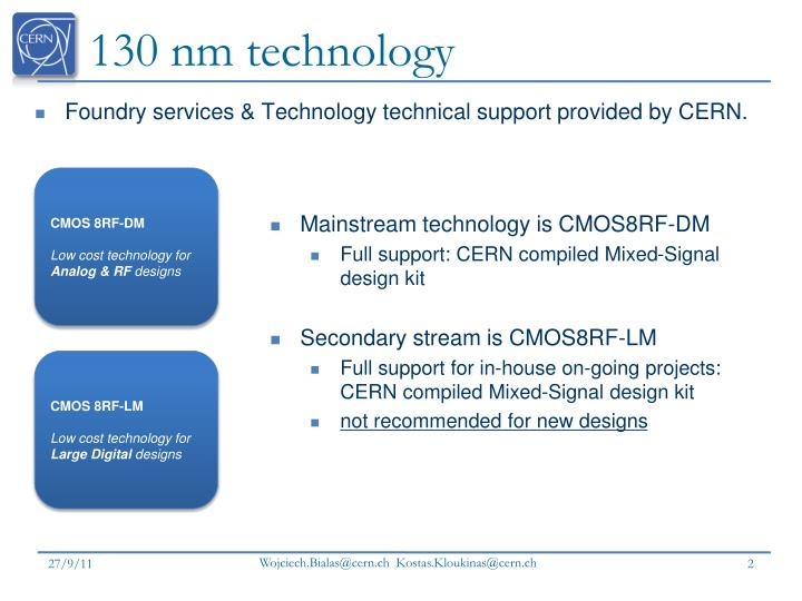 130 nm technology