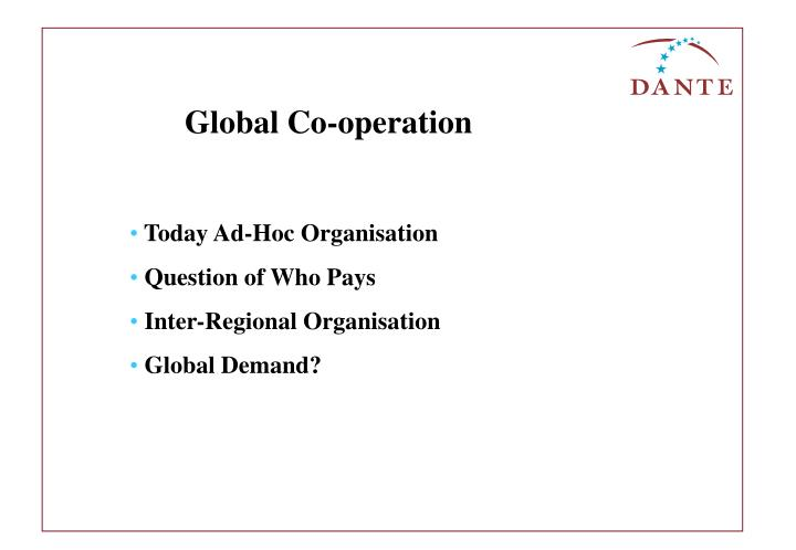 Global Co-operation