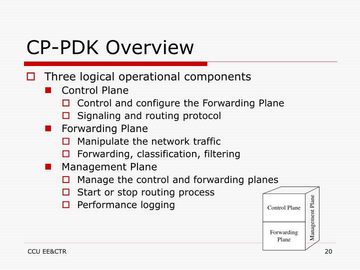 CP-PDK Overview