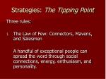 strategies the tipping point2