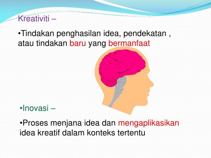 Kreativiti –