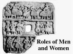 roles of men and women