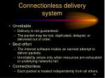 connectionless delivery system1