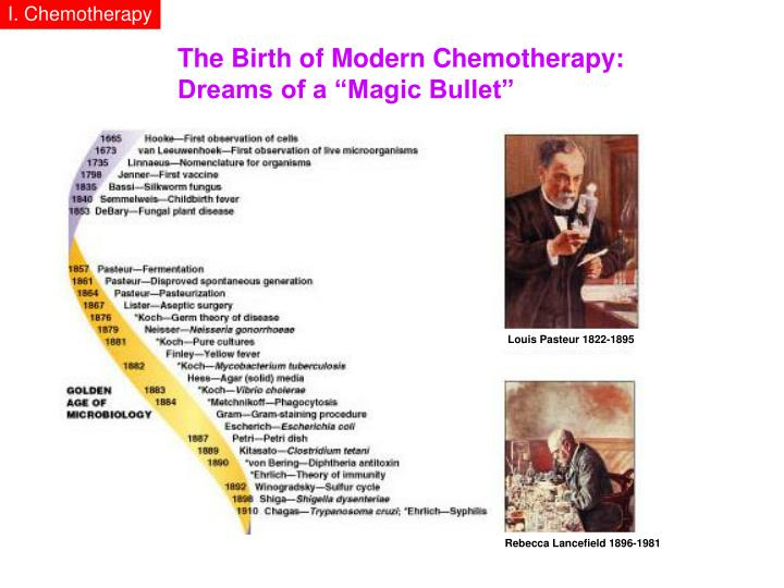 I. Chemotherapy