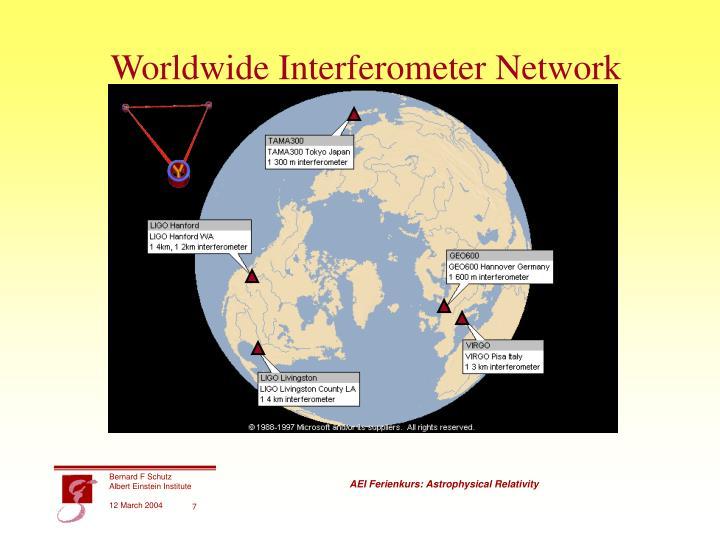 Worldwide Interferometer Network