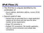 ipv6 flow 1