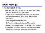 ipv6 flow 2