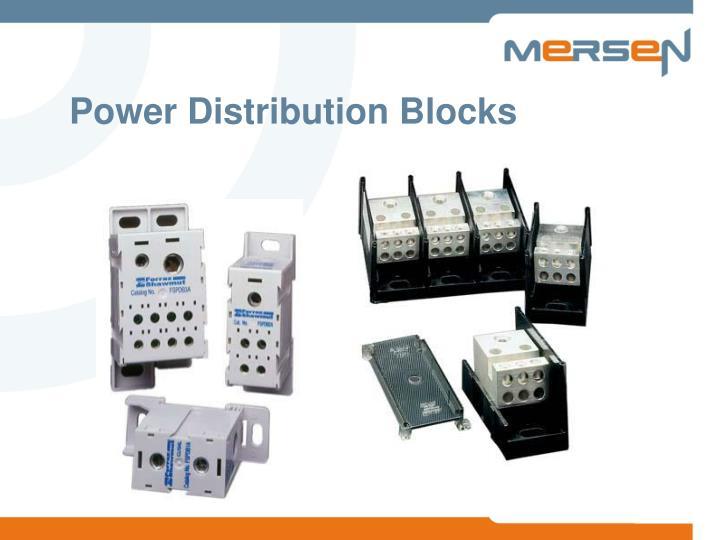 power distribution blocks n.