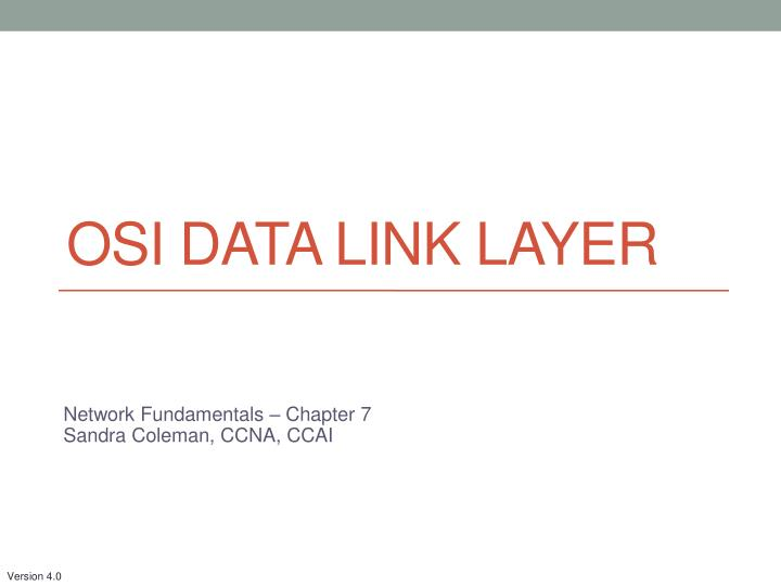 osi data link layer n.