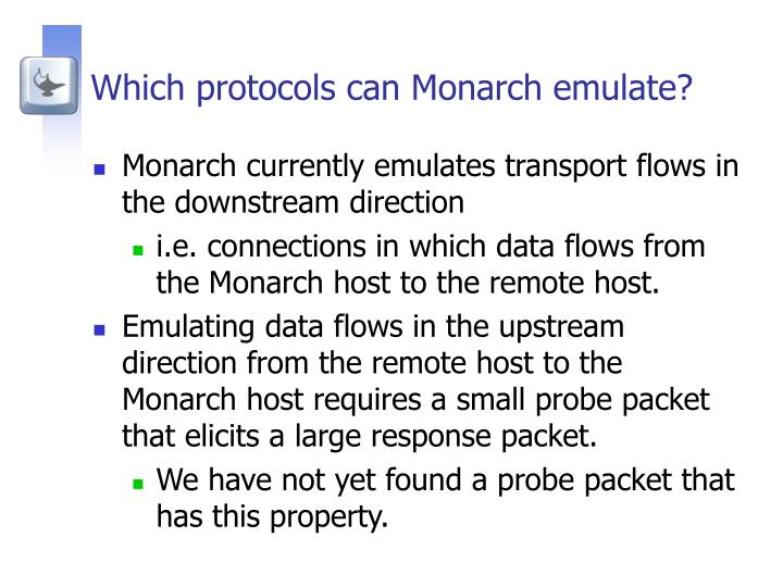 Which protocols can