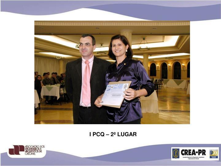 I PCQ – 2º LUGAR